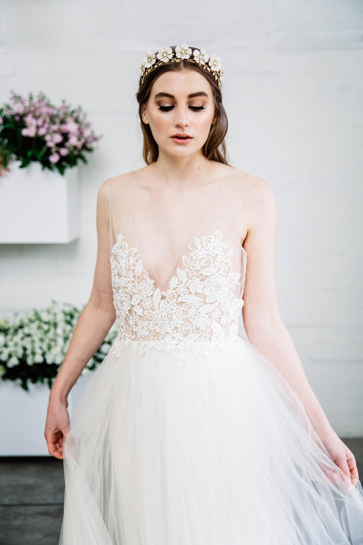 Wild Rose Bridal Tiara