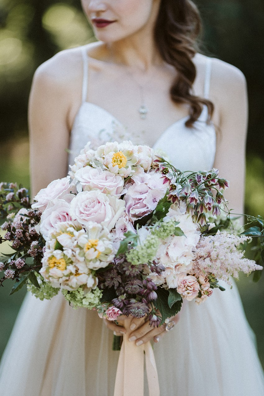 Lush Pink Bridal Bouquet