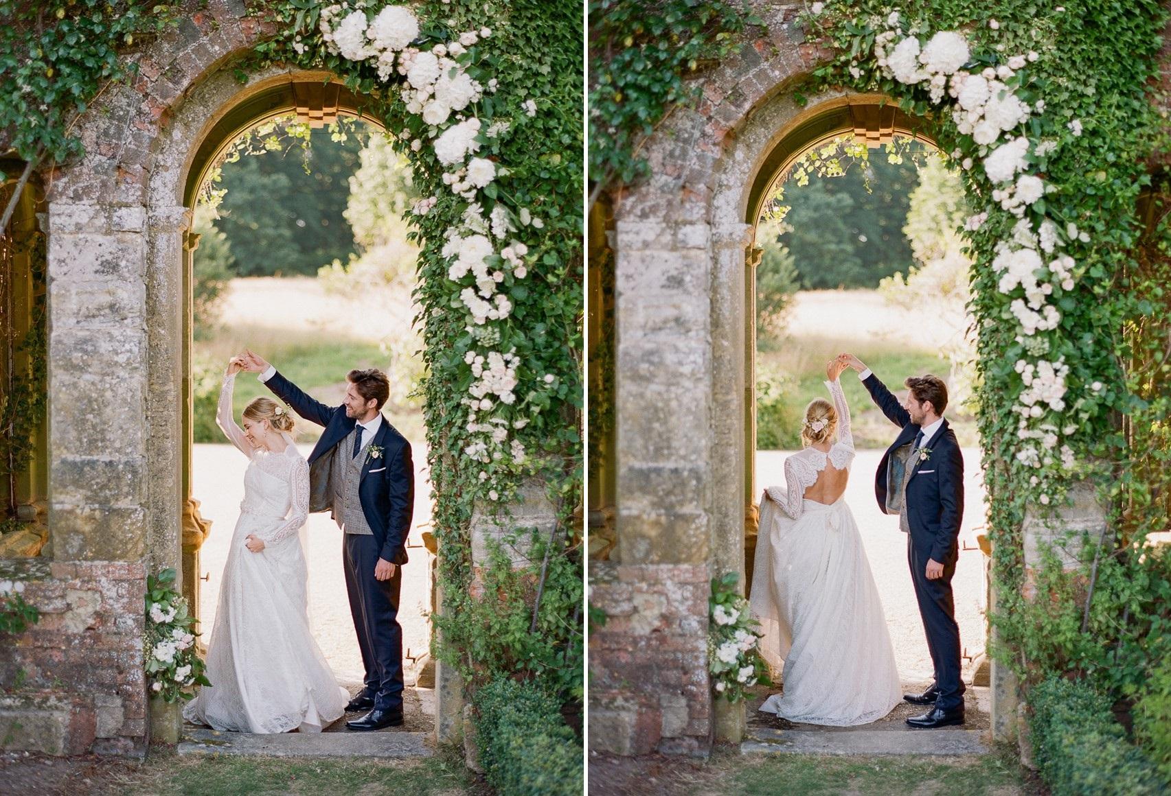 English Country Garden Wedding Inspiration