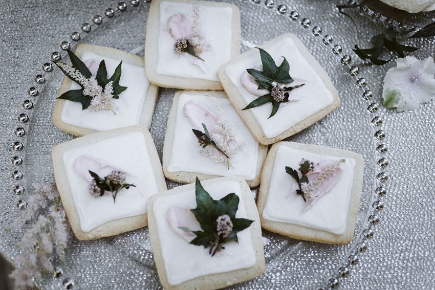 Garden Wedding Desserts