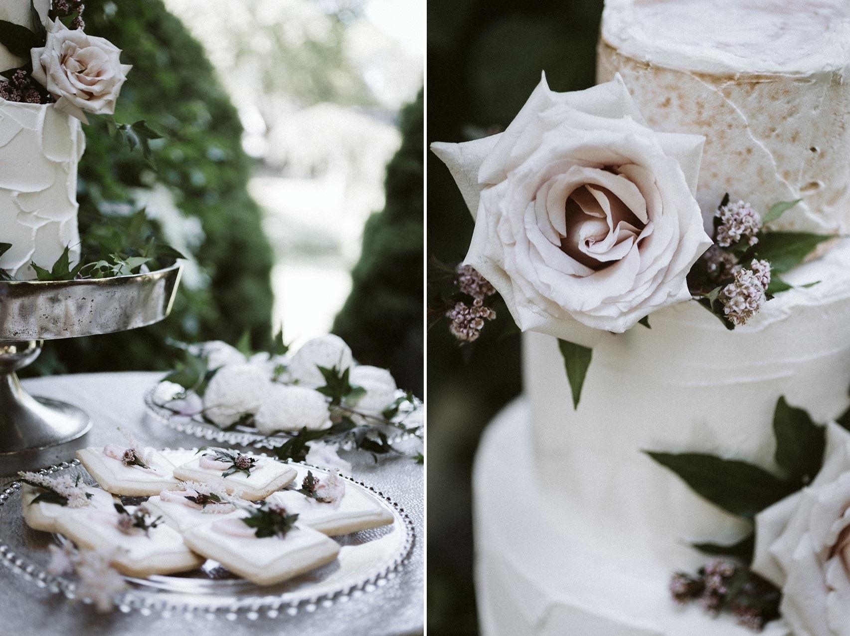 Floral Wedding Desserts