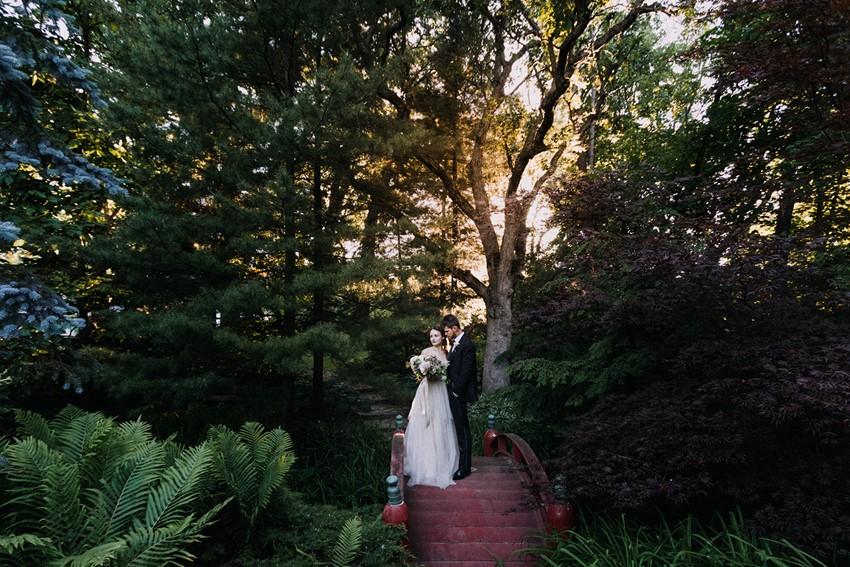 Wandering Tree Estate Gardens Wedding