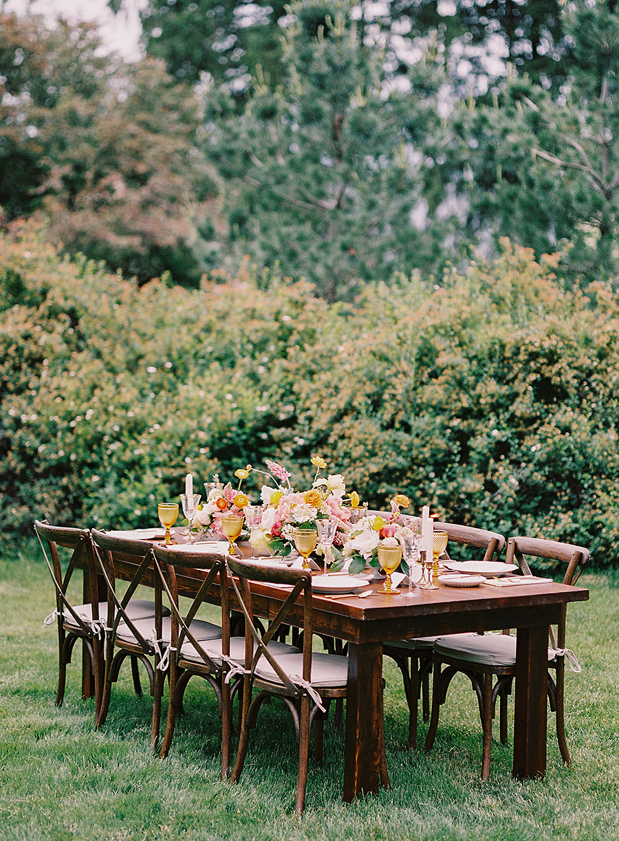 Spring Garden Wedding Table