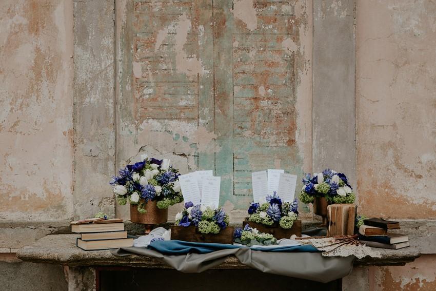 Calligraphy Wedding Table Plans