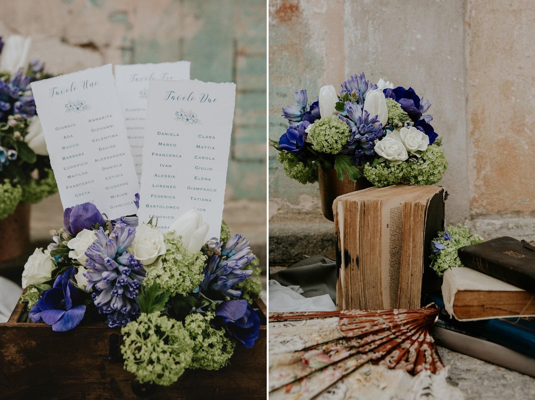 Calligraphy Wedding Table Charts