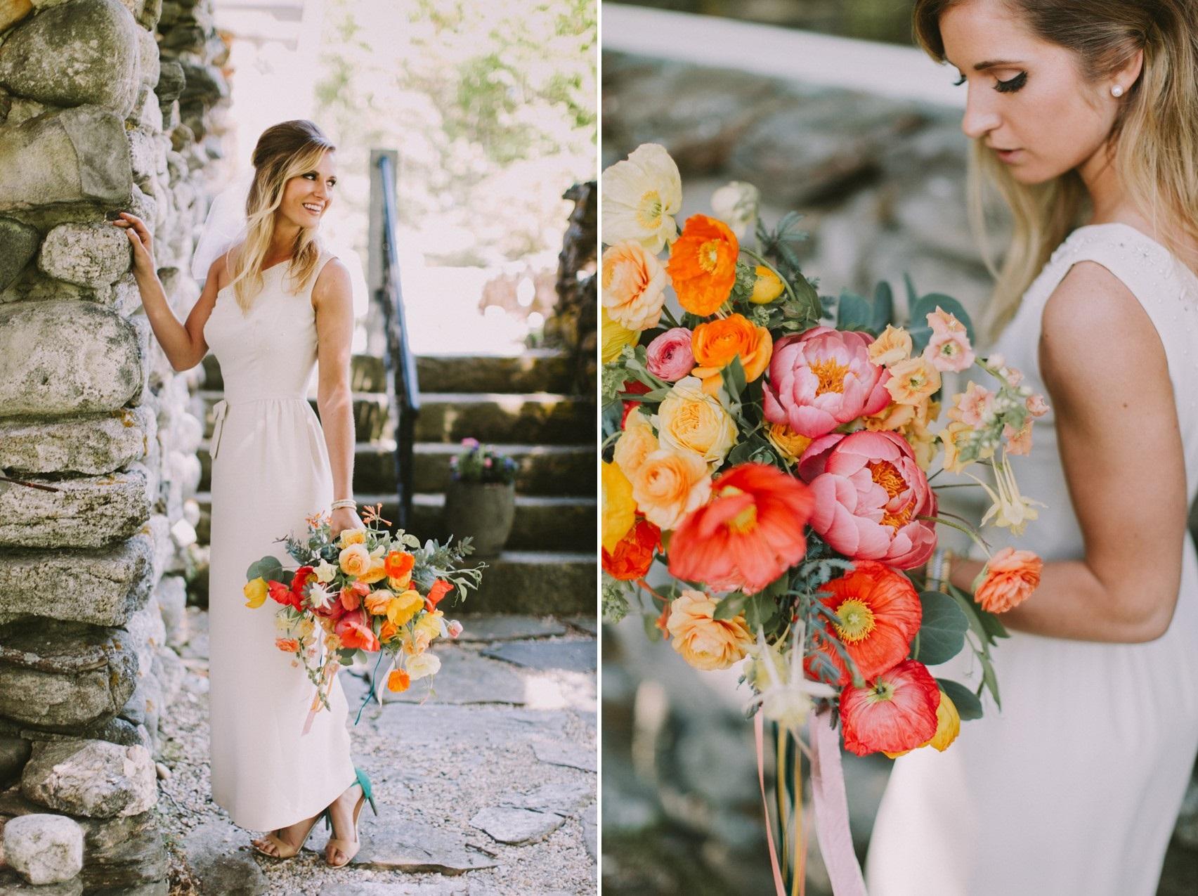 Mid-Century Modern Bridal Look