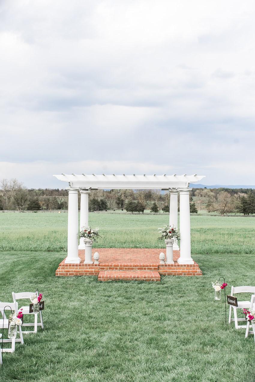 Outdoor Wedding Cermeony Arch
