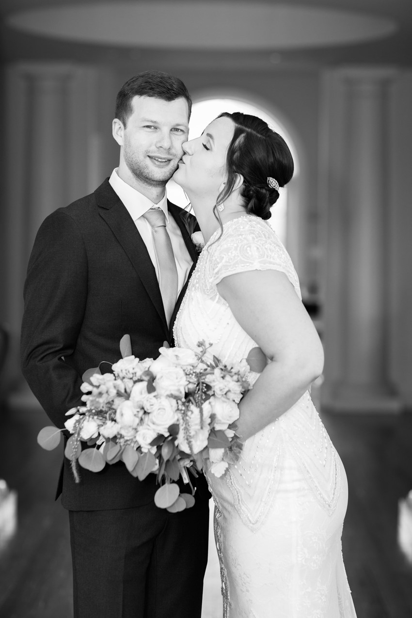 Black & White Wedding Portraits