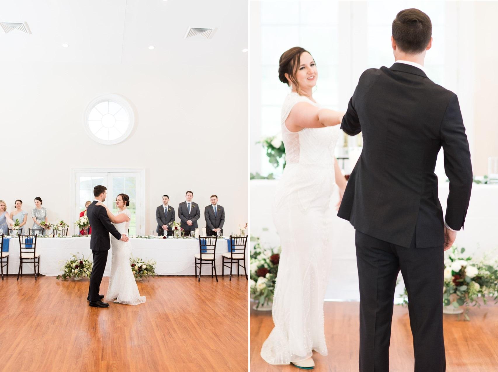 Art Deco Inspired Wedding First Dance