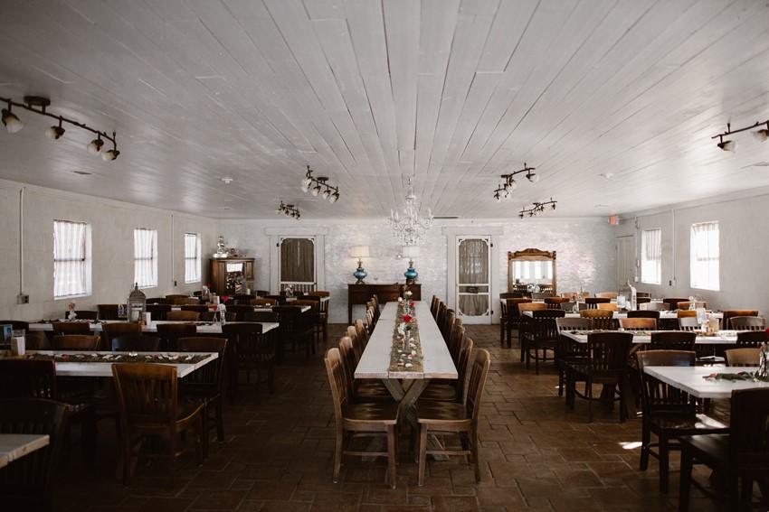 Rustic Vintage Wedding Reception