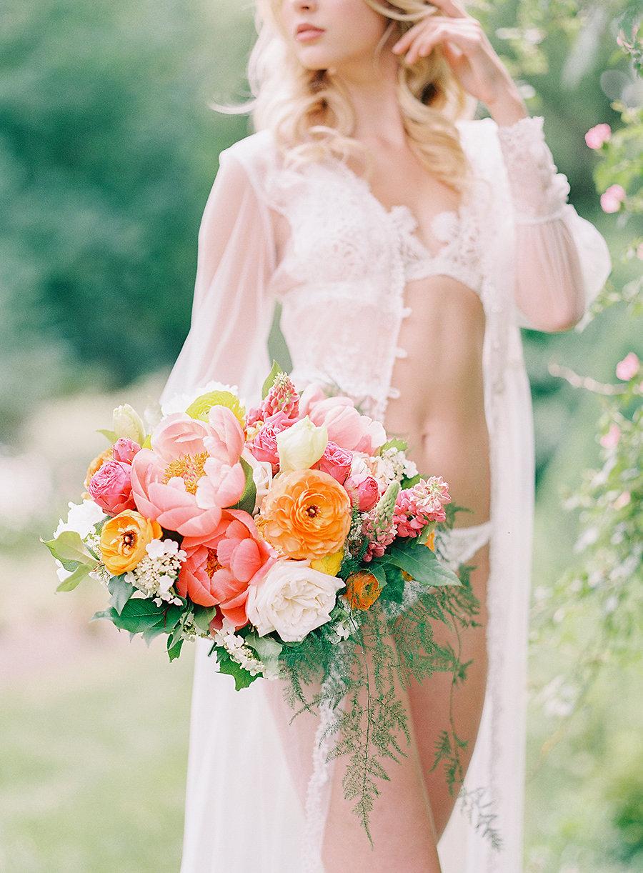 Romantic Bridal Boudoir Shoot