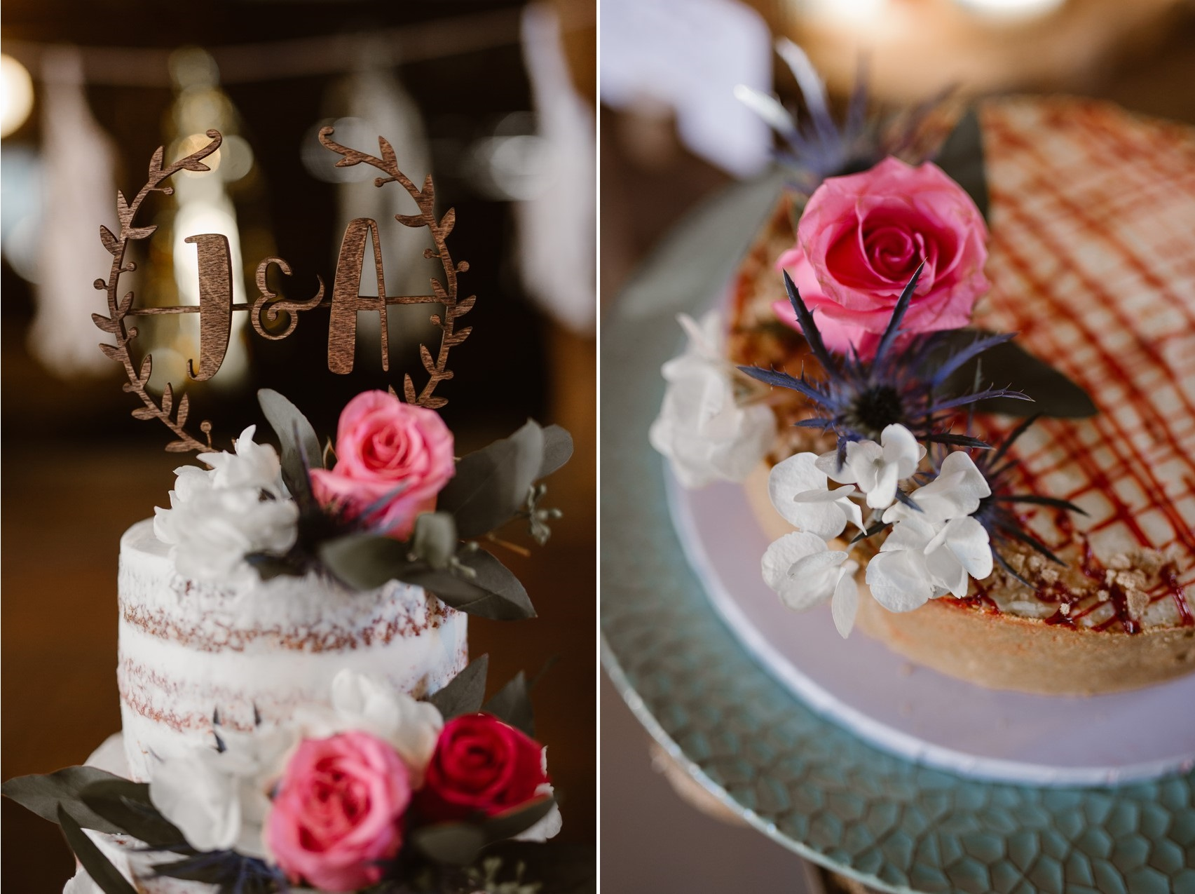 Rustic Vintage Wedding Pies