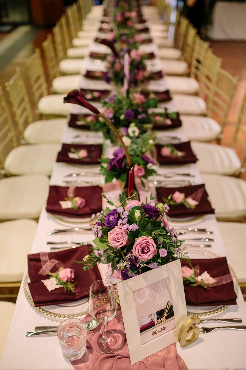 Phuket Wedding Tablescape