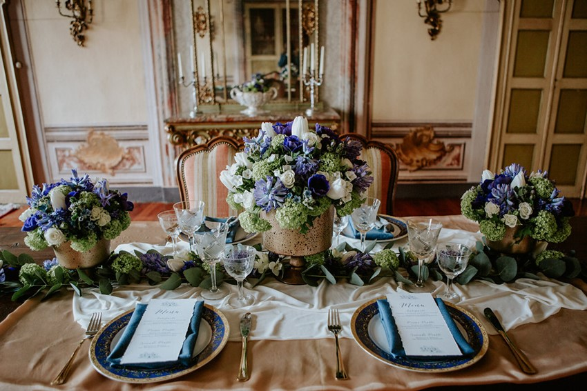Regency Inspired Wedding Table