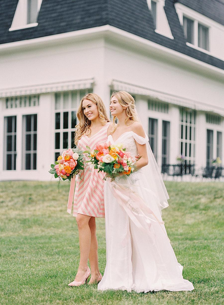 Spring Bride & Bridesmaids