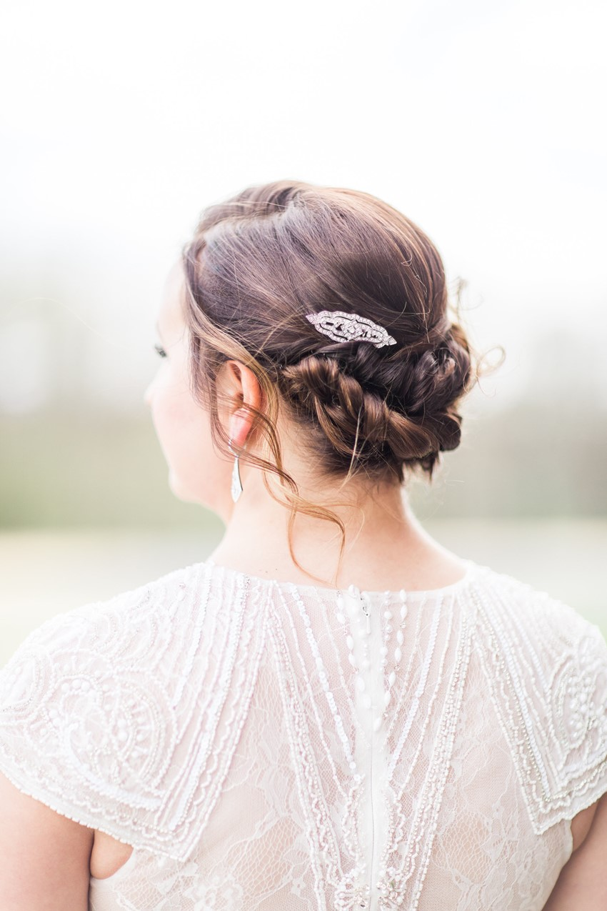 Timeless Bridal Updo