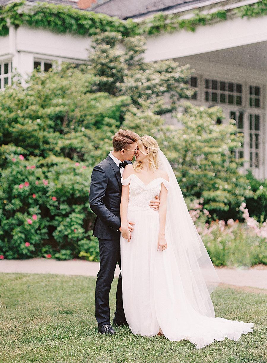 Garden Wedding Inspiration at Langdon Hall