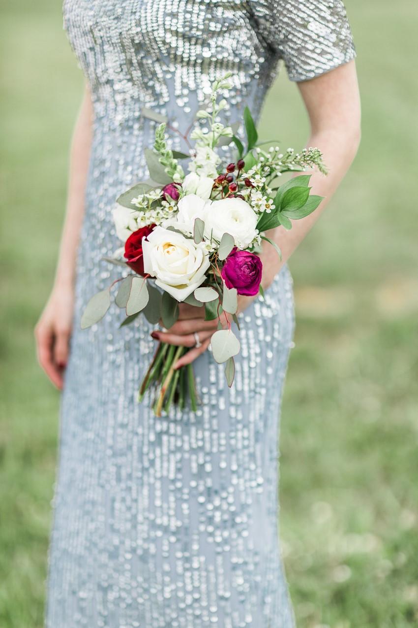 Art Deco Bridesmaids Dress