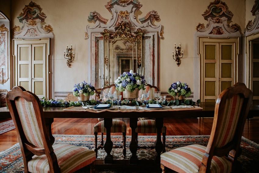 Regency Wedding Table