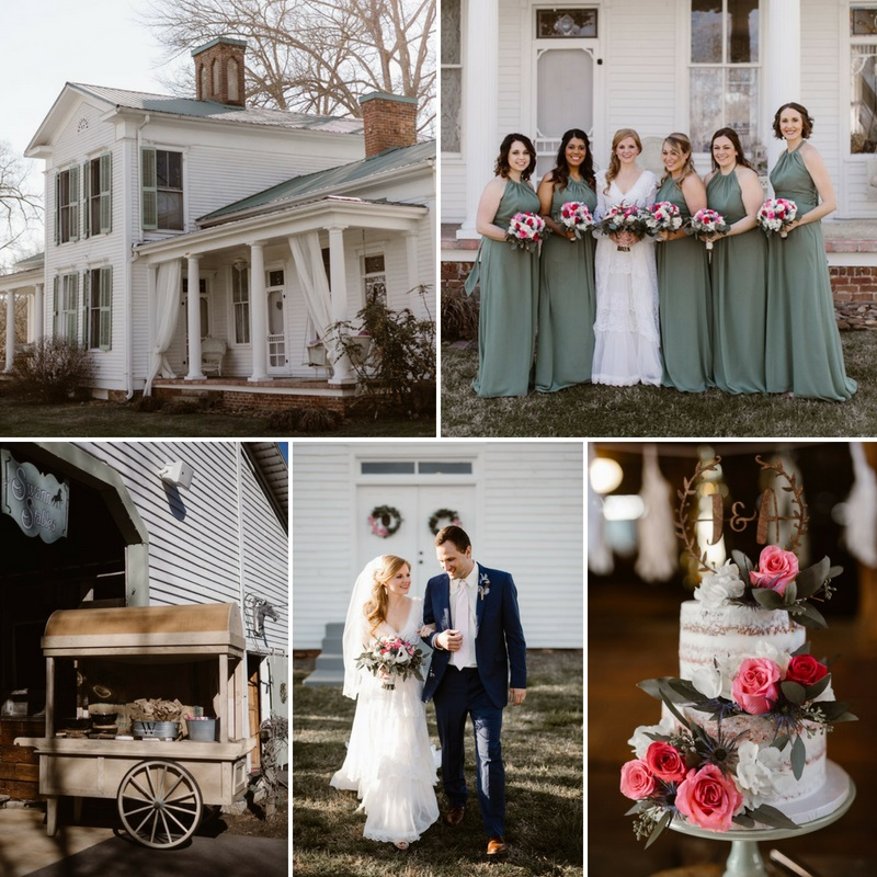 A Romantic Vintage Wedding at Swann Plantation