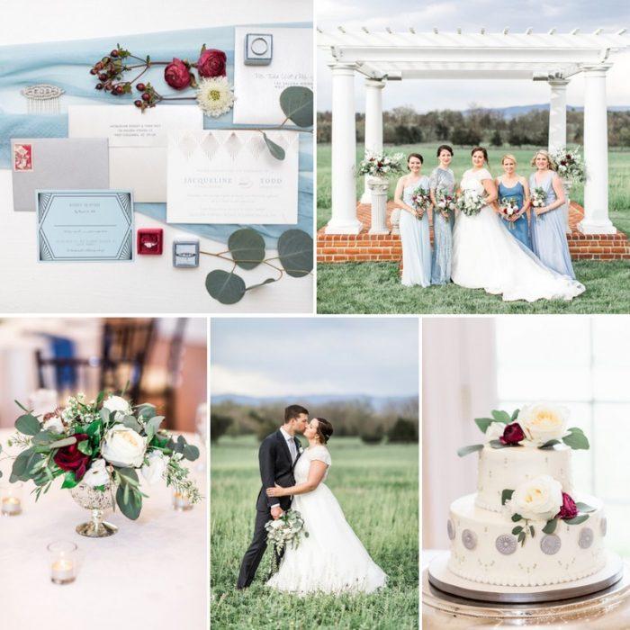 Art Deco Inspired Shenandoah Valley Wedding