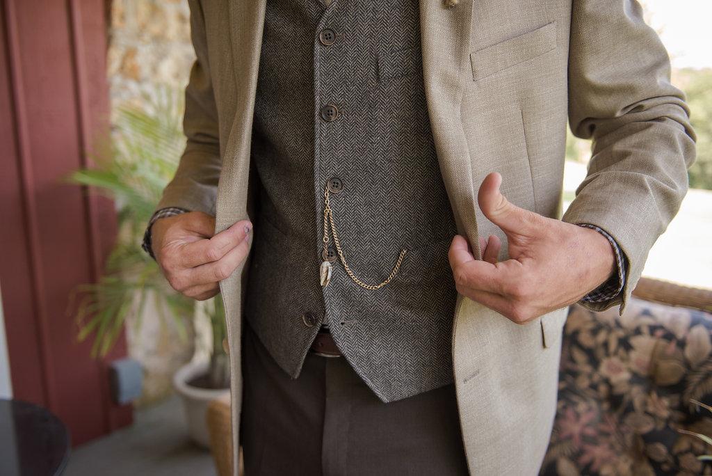 Groom's Vintage Pocket Watch