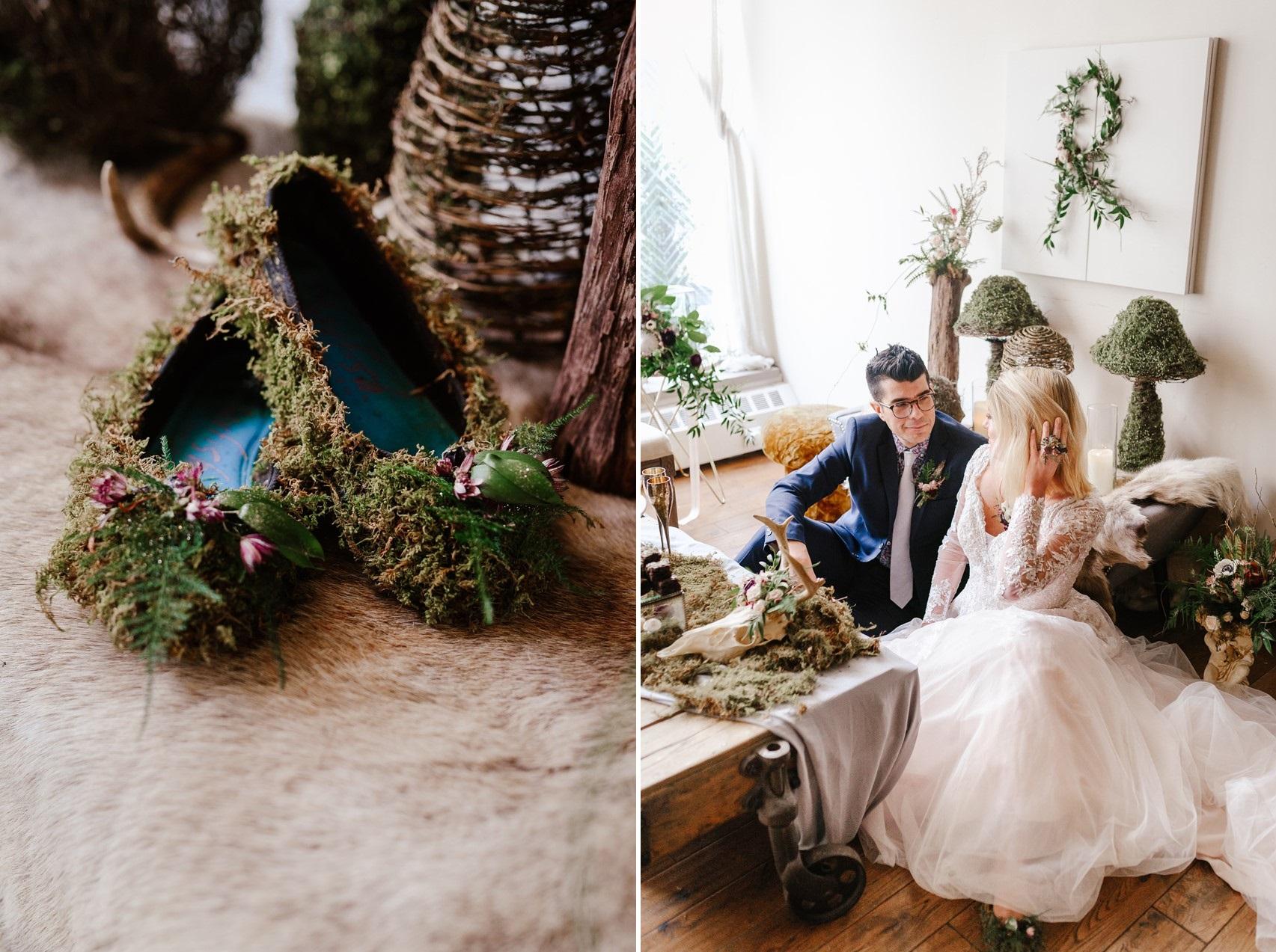 Urban Fairytale Wedding