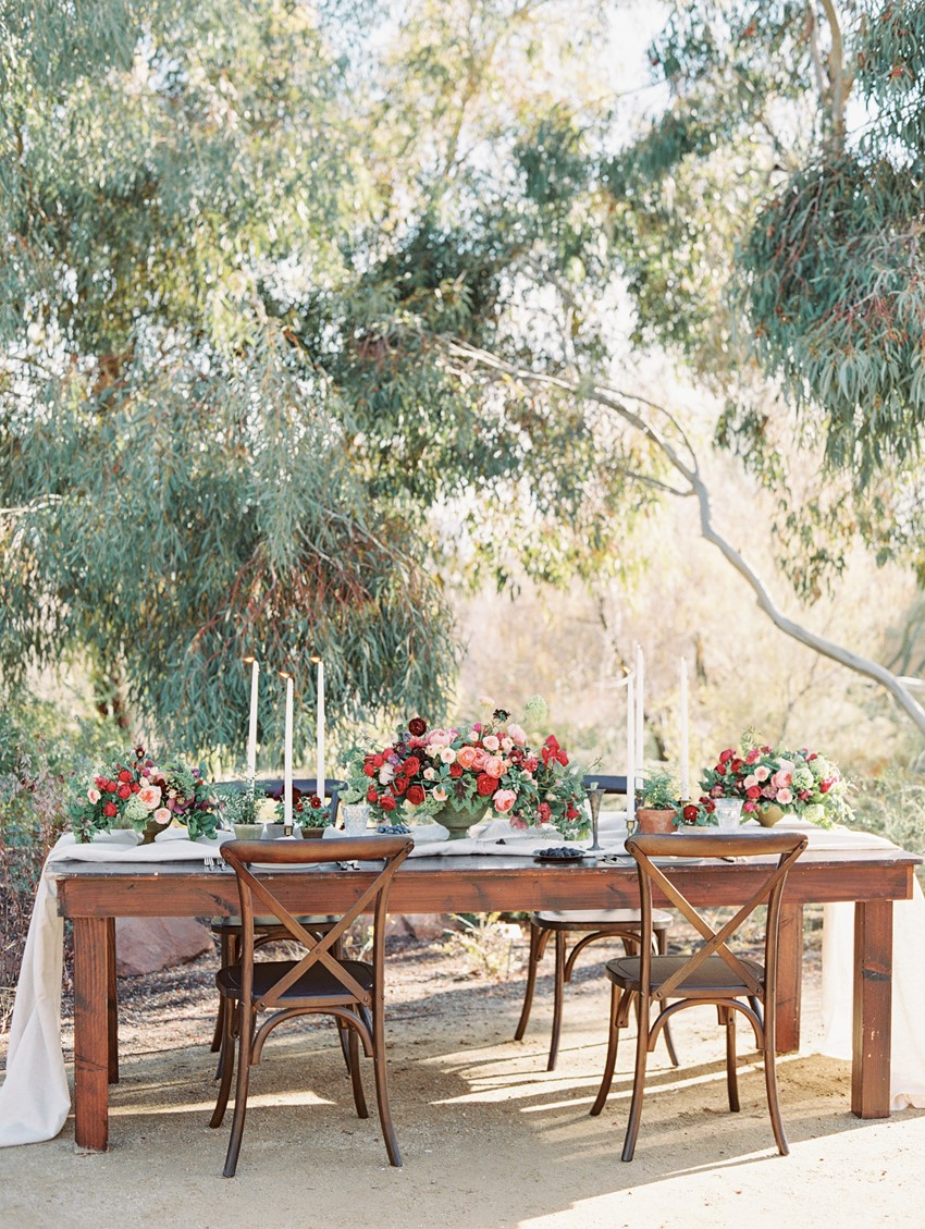 Outdoor Wedding Table