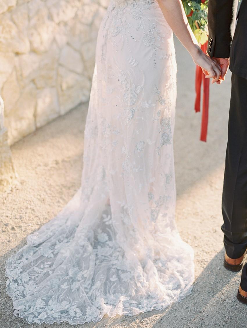 Lace Wedding Dress Train