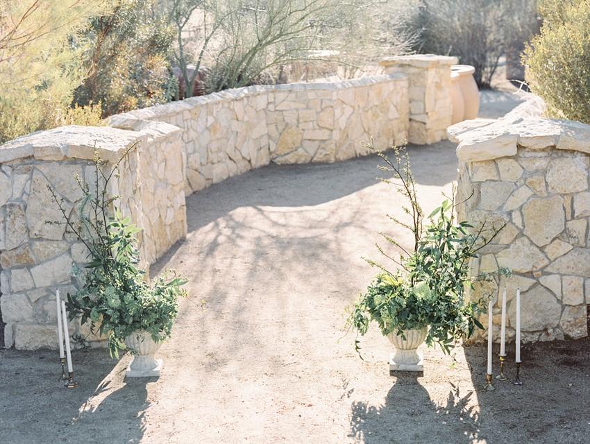 Simple Wedding Ceremony Decor