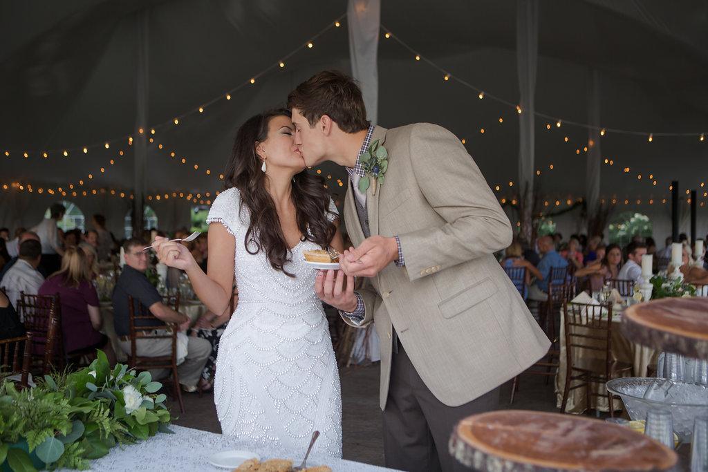 Cutting the Wedding Pie