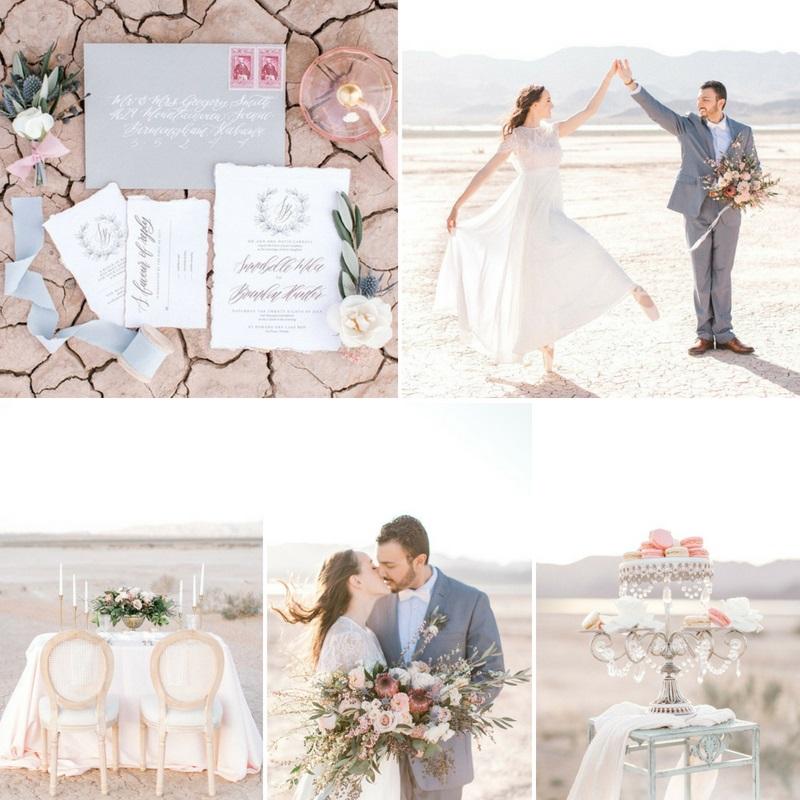 Romantic Desert Ballerina Wedding Inspiration