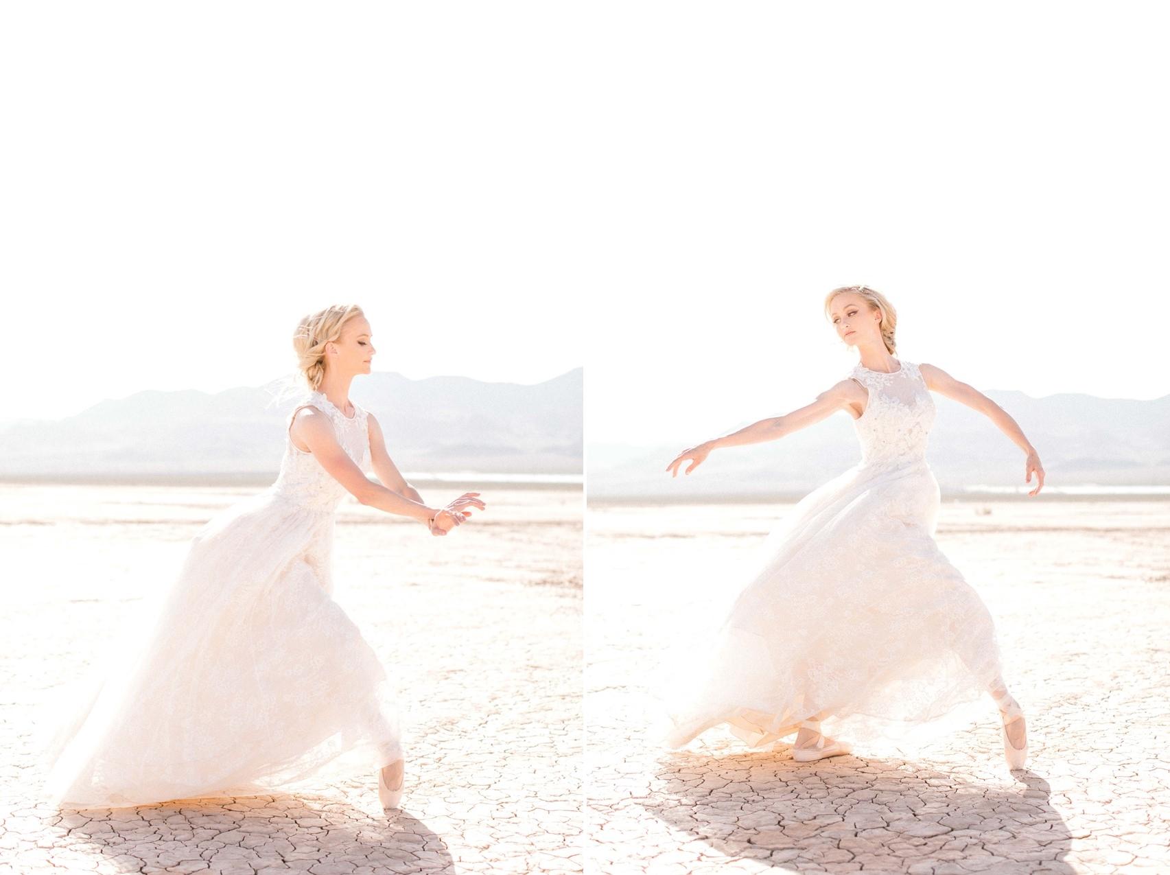 Desert Ballerina Bride
