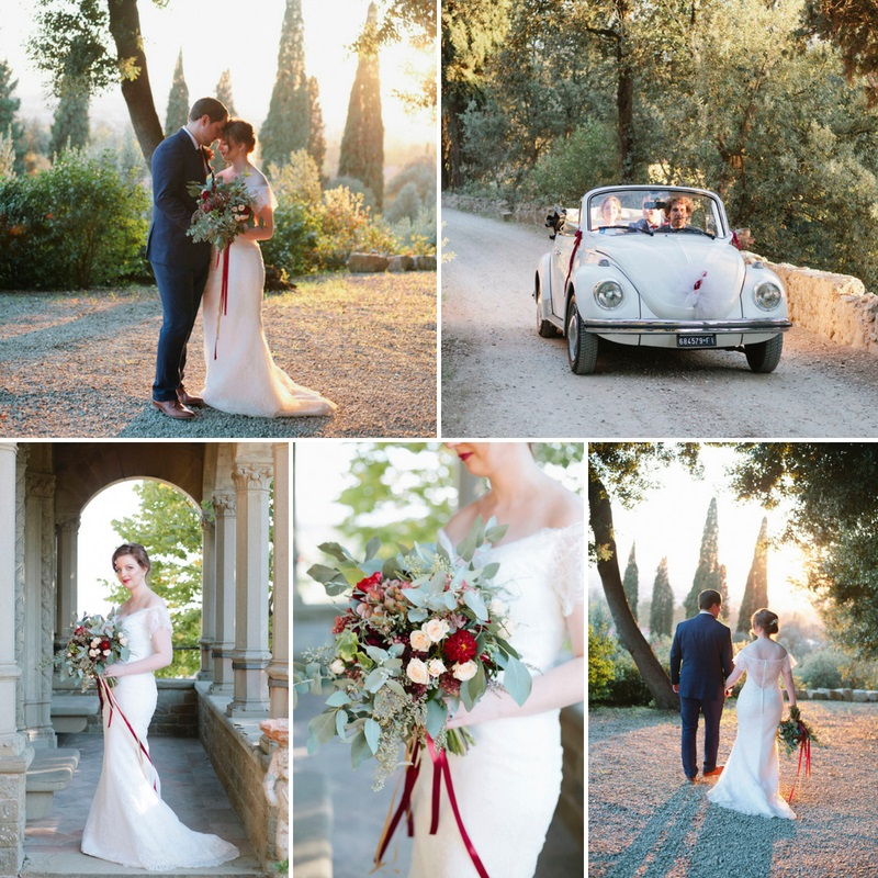 Romantic Tuscany Elopement