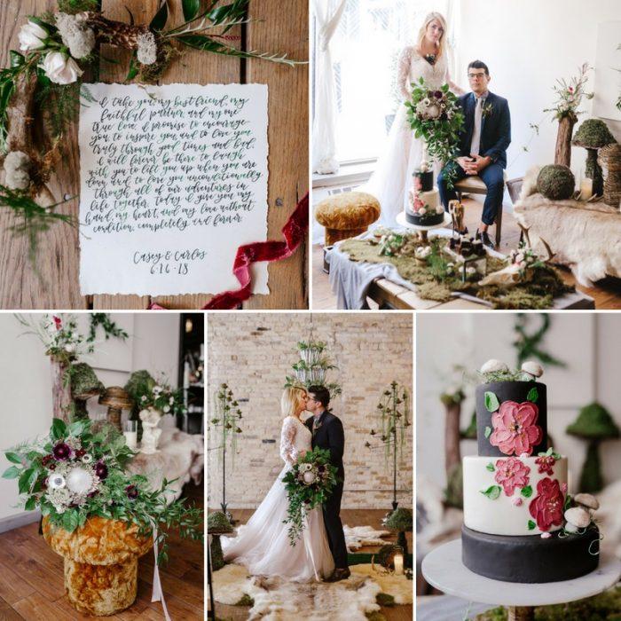 Urban Fairytale Wedding Inspiration