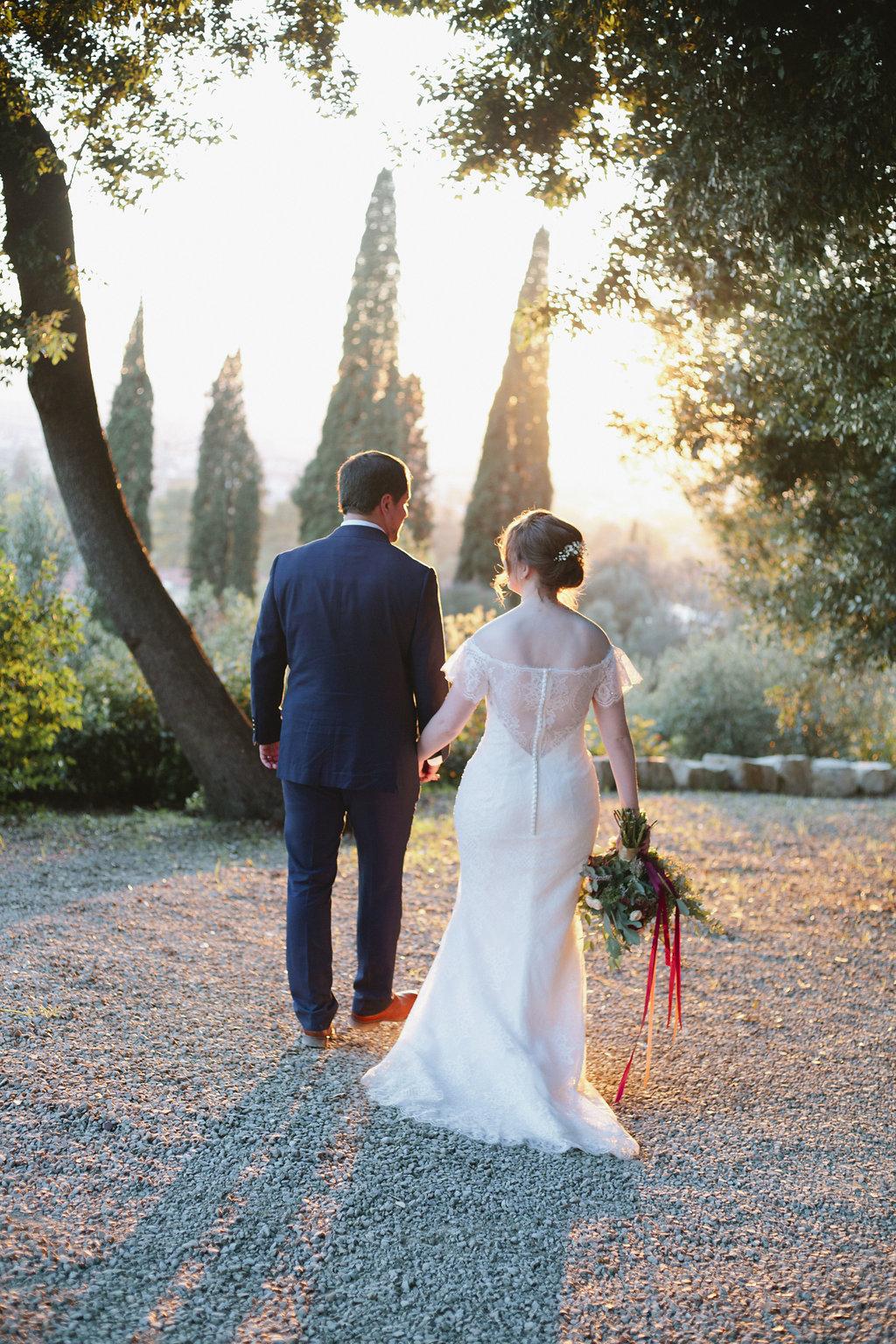 Romantic Tuscan Elopement