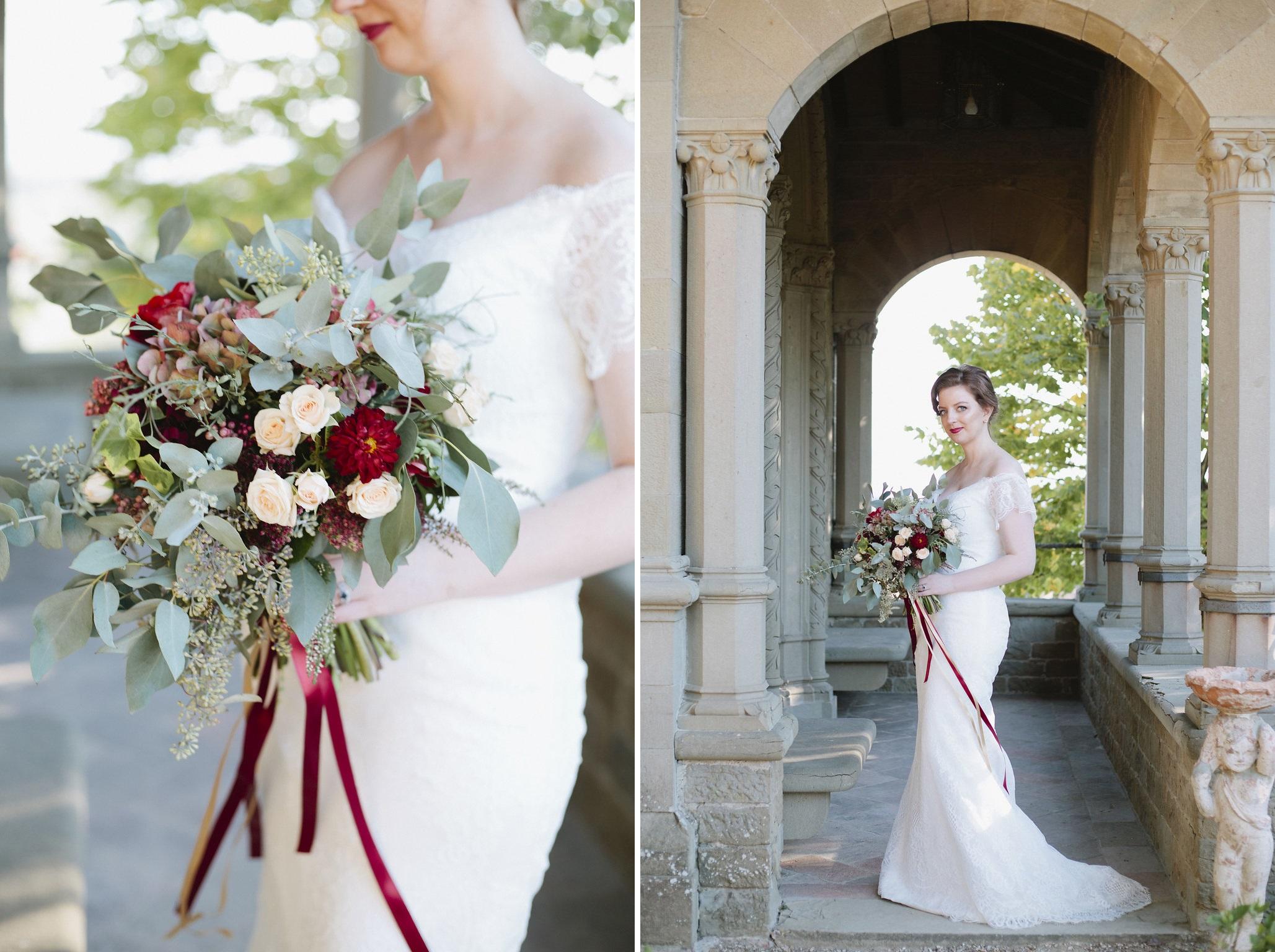 Vintage Inspired Elopement Bride