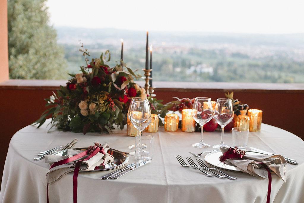 Elopement Wedding Table