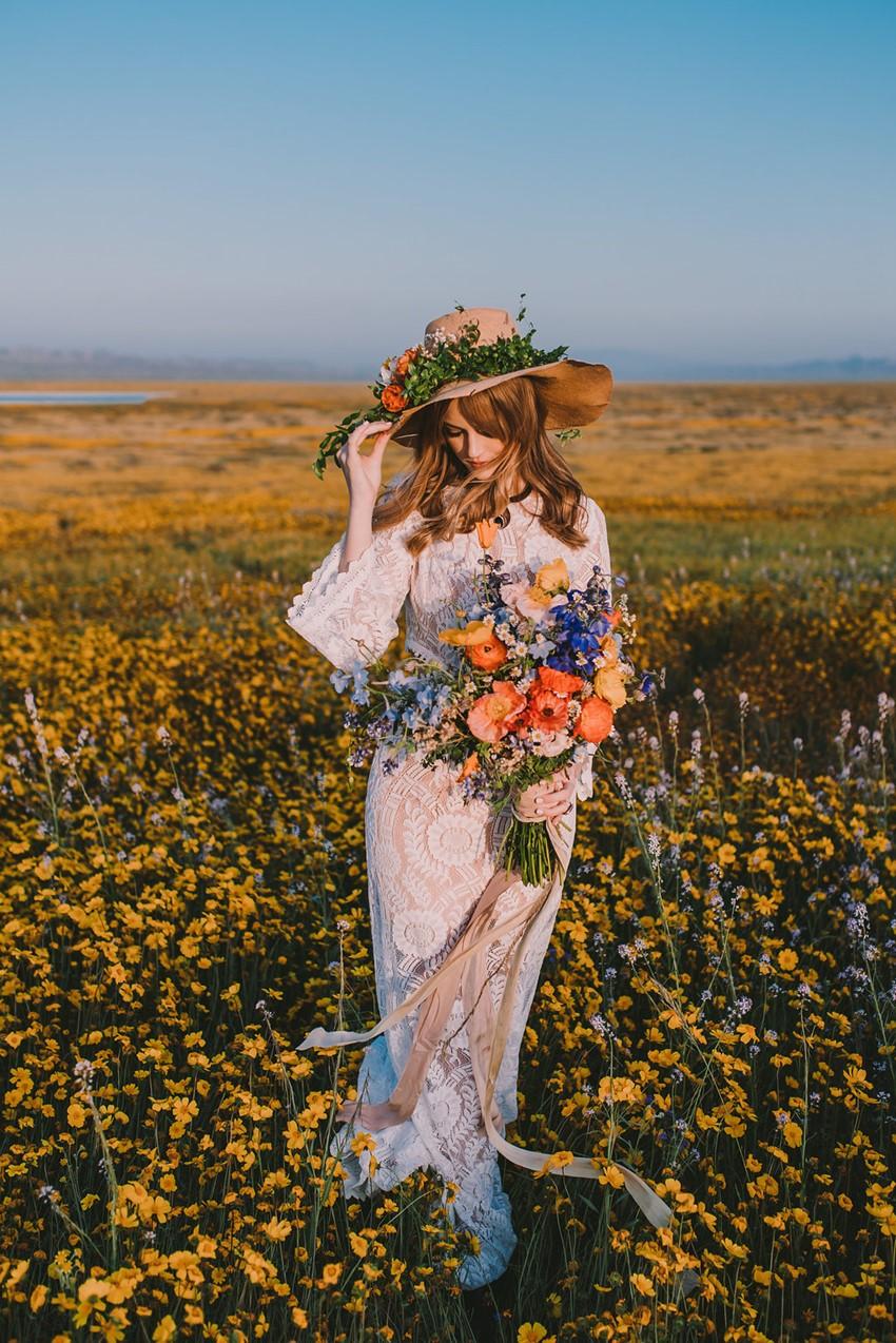 Boho Summer Bride