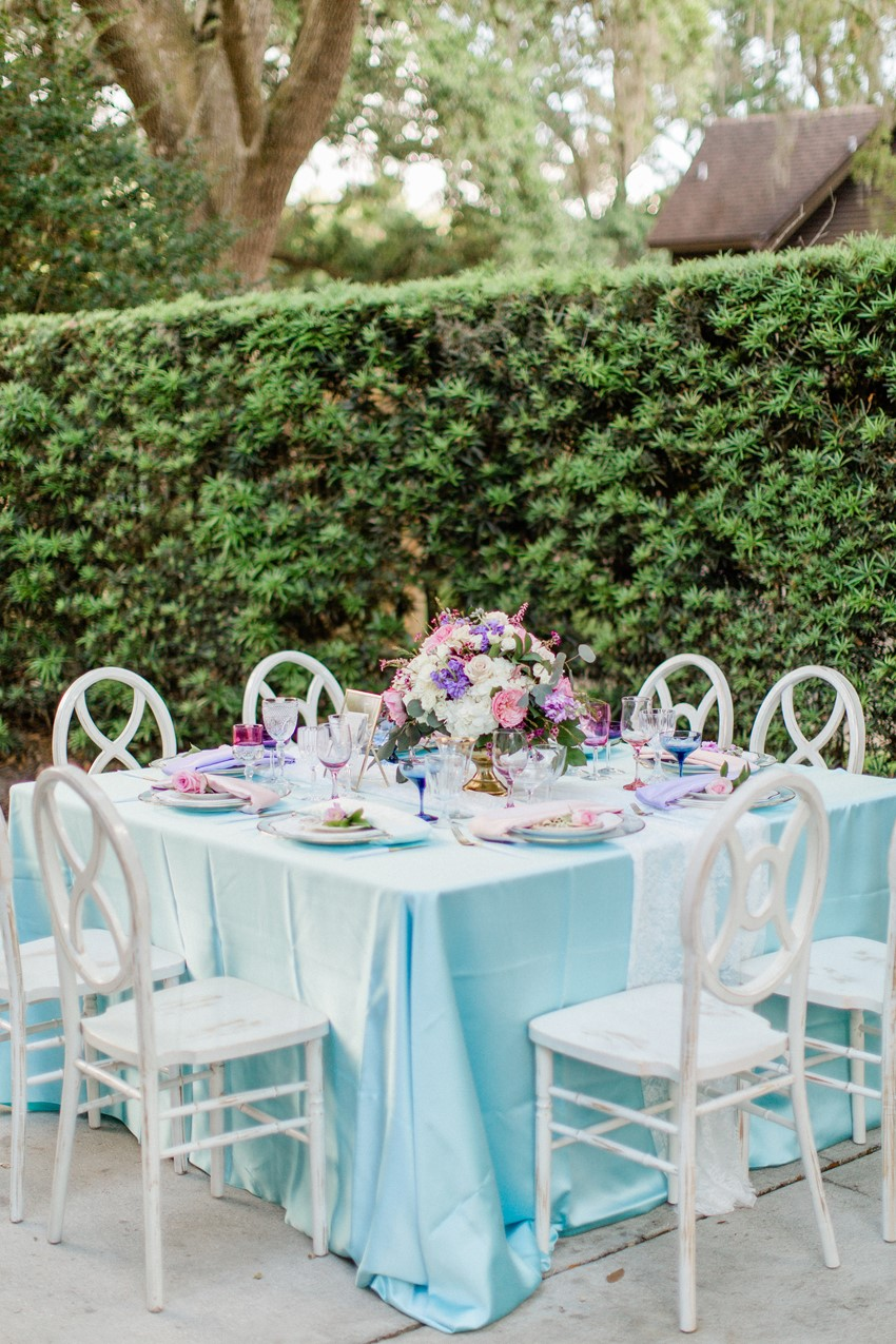 Pastel Floral Wedding Table