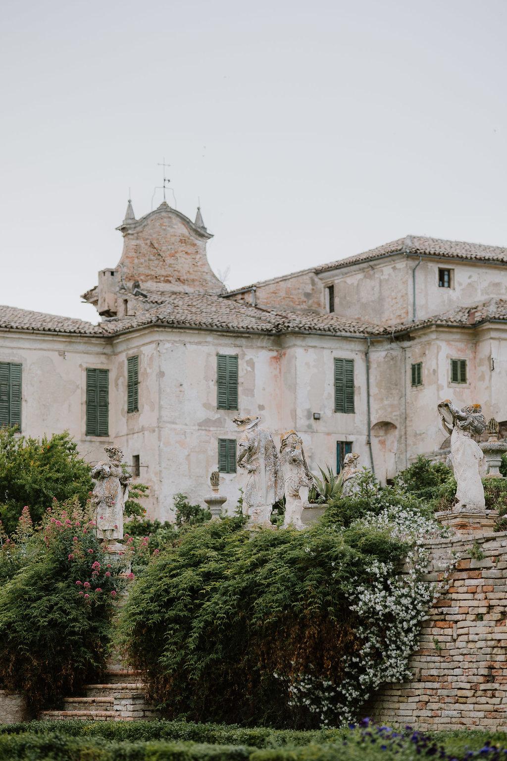 Italian Villa Wedding Venue