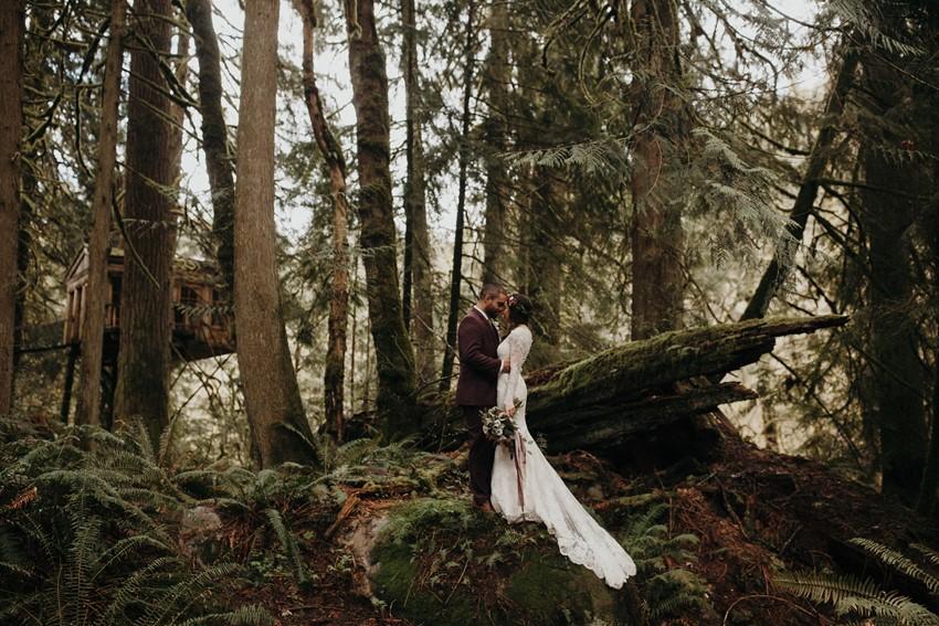 Pacific Northwest Wedding