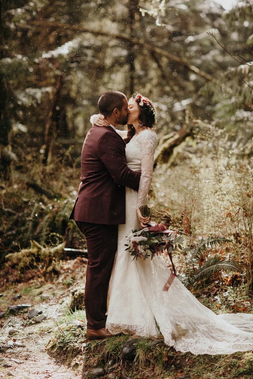 Fall Boho-Vintage Wedding