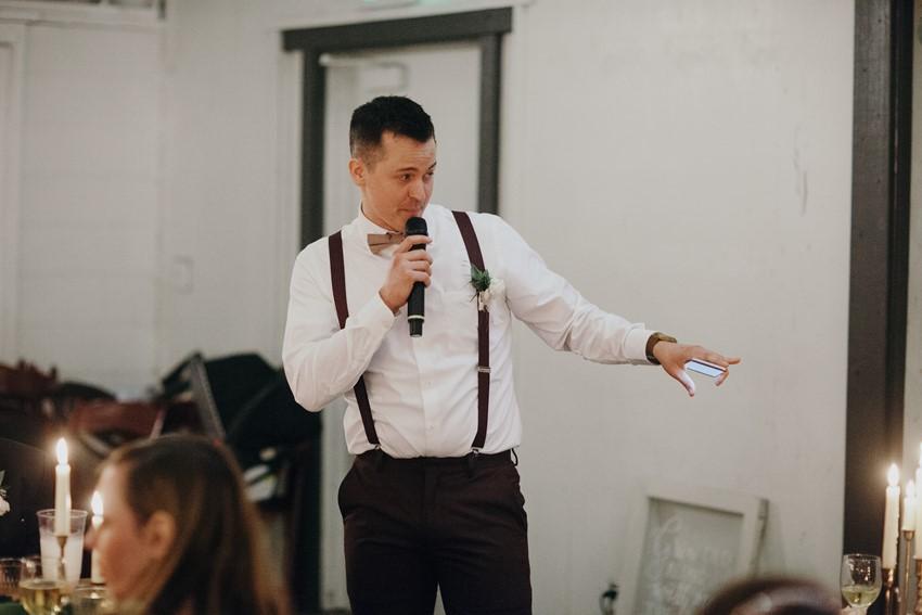 Groomsman Wedding Speech