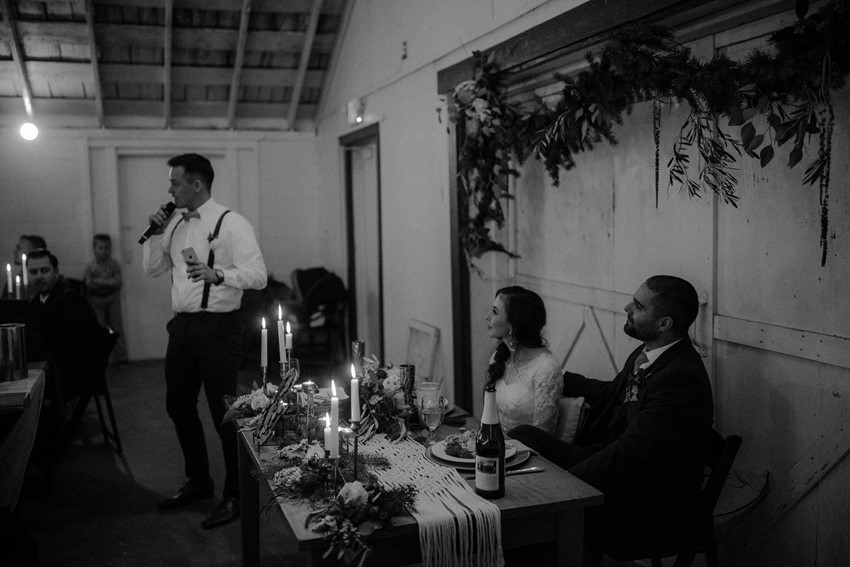 Boho Vintage Wedding Reception