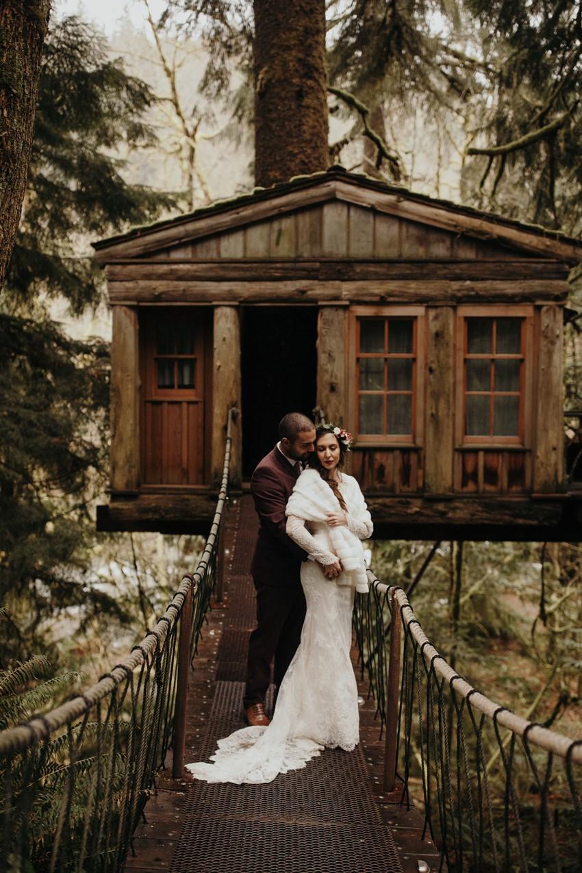 Boho Vintage Fall Wedding