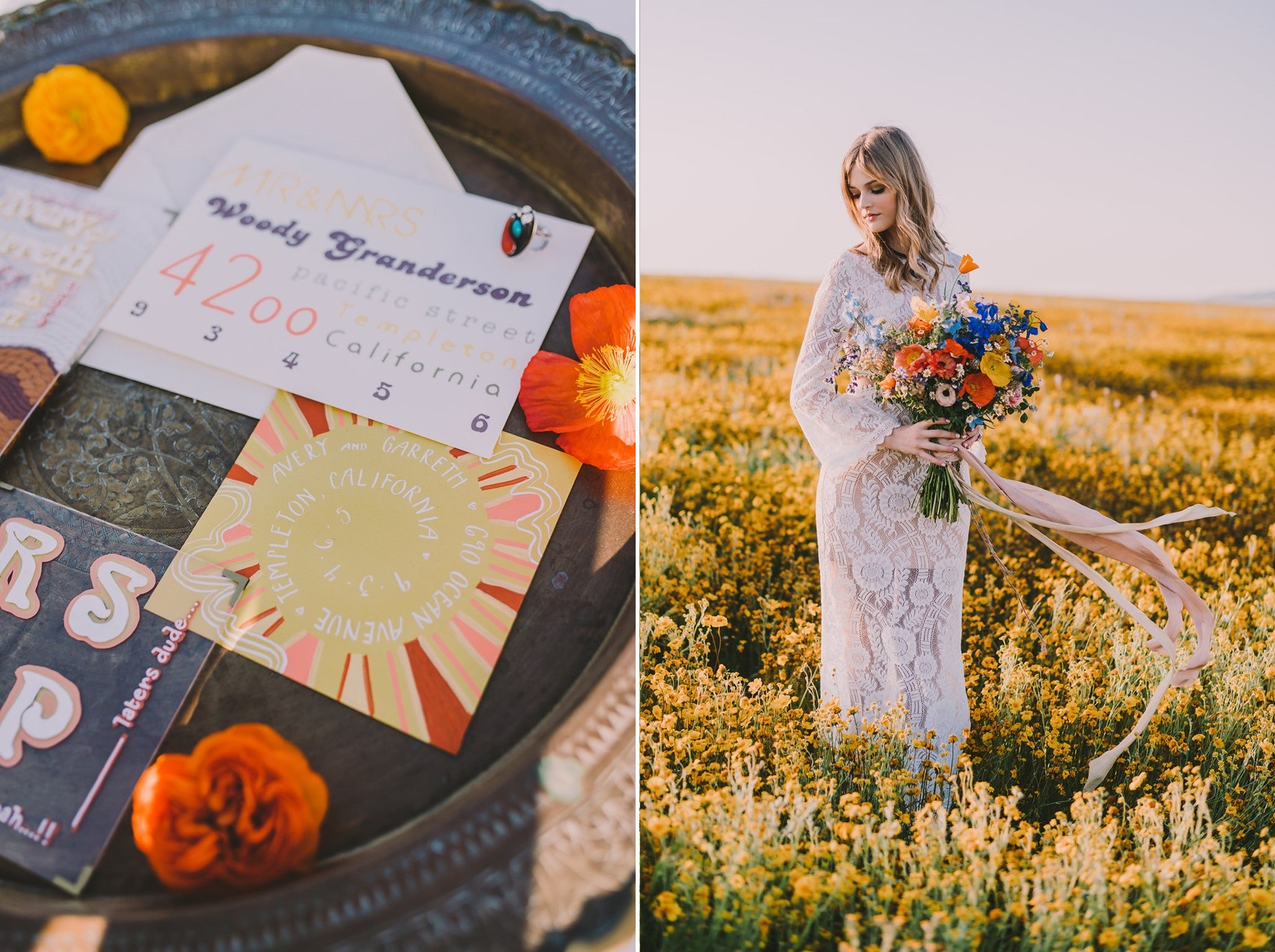 Boho Bright Summer Bride