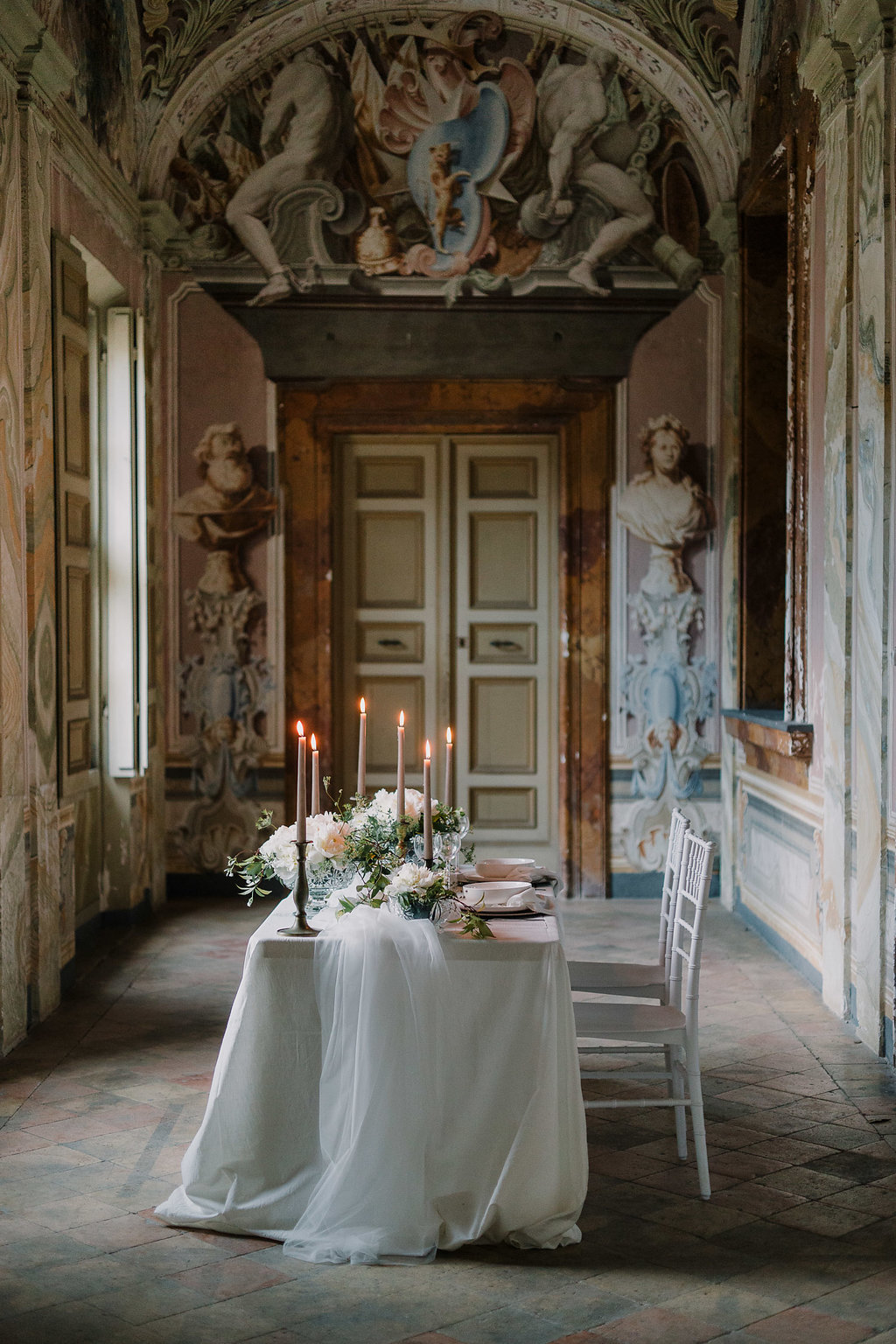 Italian Villa Wedding Table