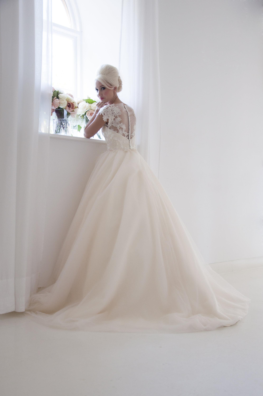 Floor Length Bridal Gown
