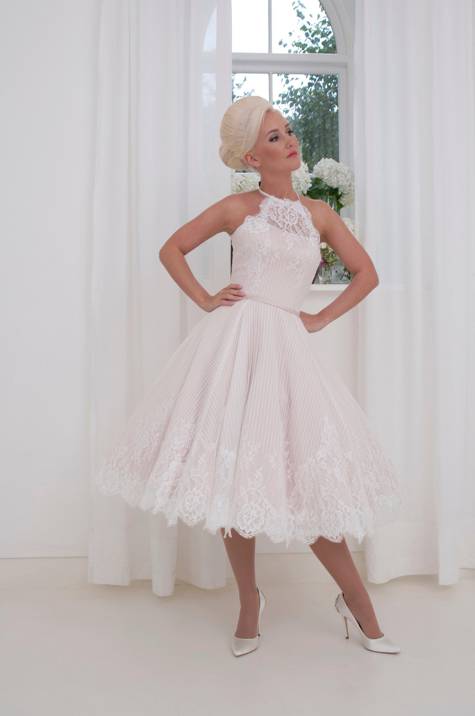 Mimi Blush Wedding Dress